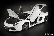 HK101 Lamborghini Aventador LP 700-4 (White) Pocher 1/8 model kit