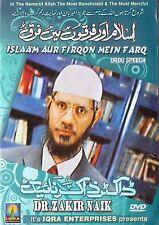DR.ZAKIR NAIK - ISLAAM AUR FIRQON MEIN FARQ - URDU DEBATES DVD - FREE UK POST