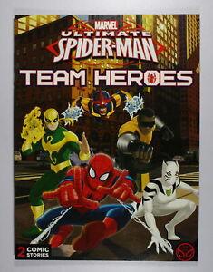 Marvel Ultimate Spider-Man Team Heros Comic 20cm x 28cm Scholastic