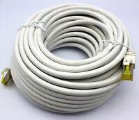 20m CAT 7 Netzwerkkabel Gigabit Ethernet LAN Kabel 10000 Mbit/s Patchkabel PIMF