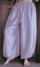 Harem Pants Belly Dance Satin Light Lavender