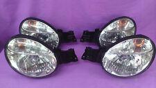 JDM 02-04 Subaru Impreza WRX Rev7 GDB GDA GG2 STI Front Headlights Lights OEM