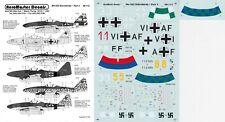 AEROMASTER DECALS 1/48 Messerschmitt Me 262A-1/S-1 KG(J) 6 JV 44 JG 7(Luftwaffe)