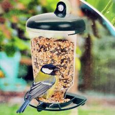 New listing Automatic Window Wild Bird Feeder Seeds Feed Hanging Suction Feeding A&