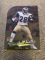 2005 Fleer Ultra Gold Medallion NFL Card # 60 Marshall Faulk Rams Colts🔥🔥