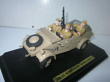 Vw 82 kubelwagen sable gonio  1/24 tole jeep Allemande Afrique figurines