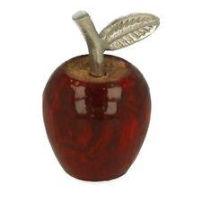 10 niedliche Äpfelchen 1,5cm Äpfel rot Herbst Streudeko DEKO 0,20€//St