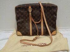 LOUIS VUITTON porte documents voyage Monogram briefcase with strap