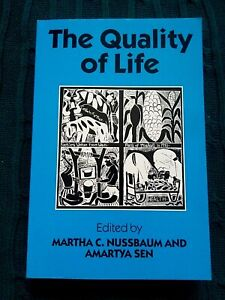 The Quality of Life by Oxford University Press (Paperback) LIKE NEW-FREE POSTAGE