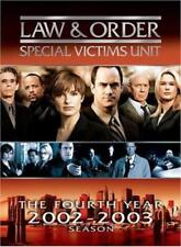 LAW & ORDER: SPECIAL VICTIMS UNIT - THE FOURTH YEAR NEW DVD