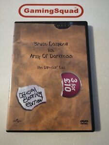 Bruce Campbell vs Army of Darkness Region 1 NTSC DVD, Supplied by Gaming Squad