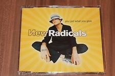 New Radicals - You Get What You Give (1999) (MCD) (MCD 49093, 149 093-2)