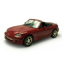 1:43 Mazda MX-5 Cabriolet Model Car Diecast Vehicle Collection Display Gift Red