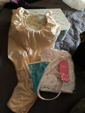 Two Brand New Body Suits And Thong Small with stretch