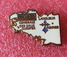 Pins Bretagne COMPAGNIE GÉNÉRALE DES EAUX Langleux Quimper Rennes