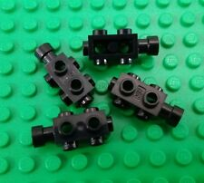*NEW* Lego Black 2x3 Rectangle with Round Studs for Spaceships Cars - 4 pieces