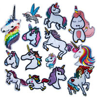 12pcs Horse Sew on/Iron on Embroidered  Patch Diy Craft Clothes Applique