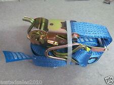 RATCHET STRAP x 1 x 2500KG 2.5T trailer straps  $16.50ea  9m long