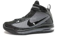 2009 Nike Air Max Rise SZ 10.5 Black Dark Grey Brandon Roy Basketball 375659-001