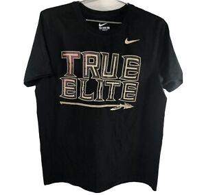 NIKE Florida State University T-Shirt True Elite BLACK Size L
