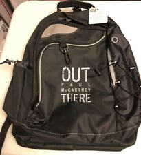 Paul McCartney OUT THERE Tour Backpack Computer Case Checkmate Leeds NWT BEATLES