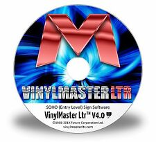 Scrap booking Software Craft Cutters Sign Plotters VinylMaster LTR Card Paper