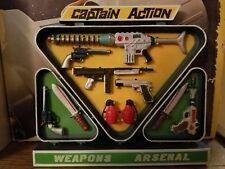 CAPTAIN ACTION WEAPONS ARSENAL RACK THIS SALE IS FOR ACRYLIC CASES ONLY NO TOYS