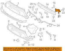 NEW GENUINE Rear Bumper Molding Trim OEM For 2010-2011 Kia Soul 866612K000