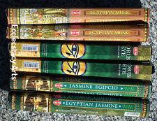 Hem Egyptian Incense Sampler Jasmine-Horus Eye-Egyptian Musk -  120 Sticks