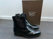 Men's Florsheim Regent Leather Dress Boots Black – Size 9 Wide