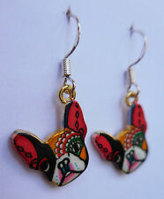 So Picasso Frenchy so chic! earrings French bulldog bull dog frenchie pup puppy