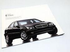 2003 Mercedes-Benz C-Class C230 Kompressor C320 C240 C32 AMG W203 Brochure