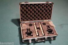 B-stock Pair of KAM i2n condenser microphones omni & cardioid capsules & case