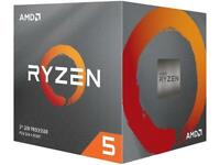 AMD RYZEN 5 3600X 6-Core 3.8 GHz (4.4 GHz Max Boost) Socket AM4 95W 100-10000002