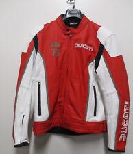 Ducati IOM C1 Lederjacke rot DAINESE Motorradjacke Herren Größe 54 981040954