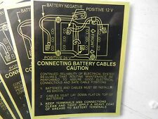 24 Volt Military Truck Wiring Connection Diagram Pack of 25 Stickers HMMWV M998