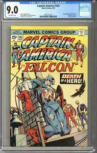 Captain America #183 CGC 9.0