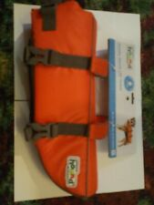 OUTWARD HOUND - Orange Ripstop Life Jacket for Dogs - Medium