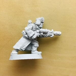 Warhammer 40K Imperial Guard Valhallan Ice Warrior Metal Melta Gun Trooper OOP