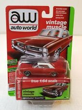 1964 Pontiac Grand Prix - Auto World 1:64 - Sunfire Red Poly 71415