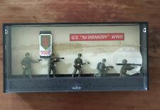 1990 Monogram German Infantry WW2 Pocket Force Die Cast Miniature Soldiers