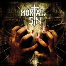 MORTAL SIN - Psychology of Death 2CD, NEU