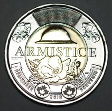 Canada 2018 2 Dollar BU Canadian Toonie Armistice Uncirculated Coin
