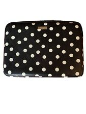 "13"" laptop case kate spade new york laptop sleeve black and white"