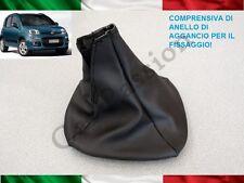 CUFFIA CAMBIO FIAT PANDA DAL 2012 ORIGINALE IN PELLE CON AGGANCI gear boot