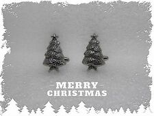 Smart Christmas Tree Cufflinks,Handsome,French Shirt Cuff Button,Xmas,Gift Idea