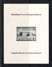 BELGIQUE (1940) - COB BLOC 14*MLH - CHAPELLE MUSICALE REINE ELISABETH (NON DENT)
