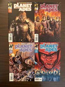 Planet of the Apes 1-4 High Grade Dark Horse Lot Set Run CL51-96