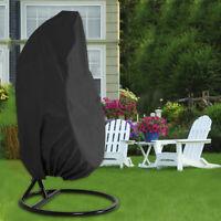 Couverture de chaise balançoire oeuf chaise meubles de jardin imperméable