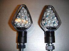 ►4X LED MINIBLINKER STAR CARBON YAMAHA XVS1100/A Drag Star/Classic,XJR1200,MT-03
